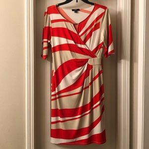 MSK Faux Wrap Dress